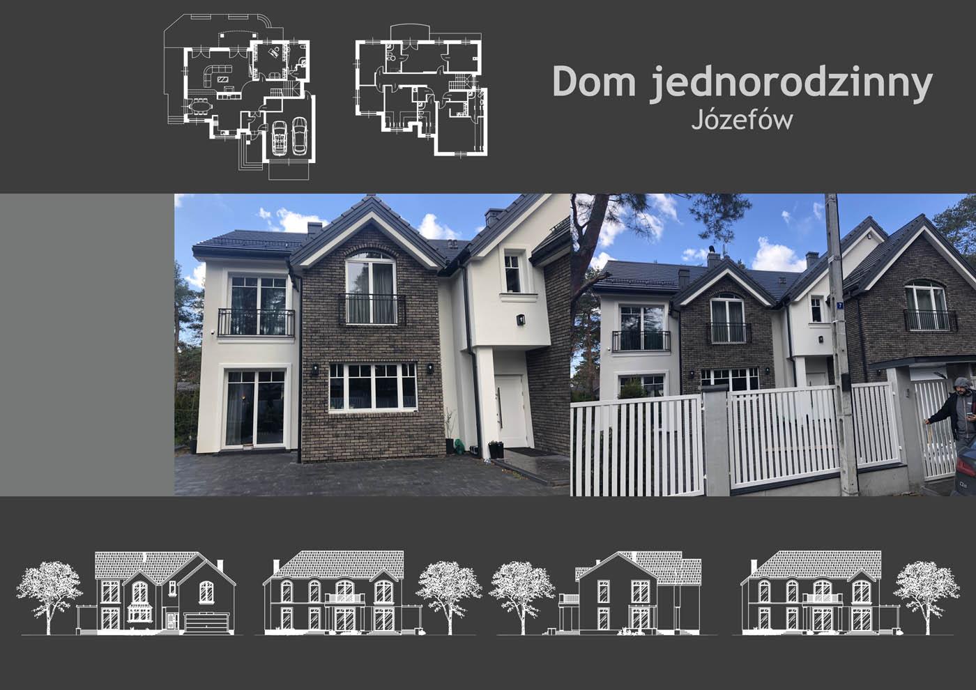 Dom jednorodzinny w Józefowie