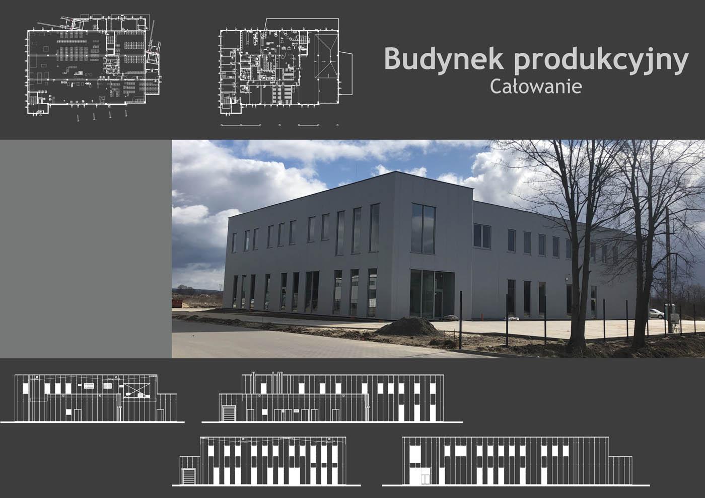Budynek produkcyjny Całowanie