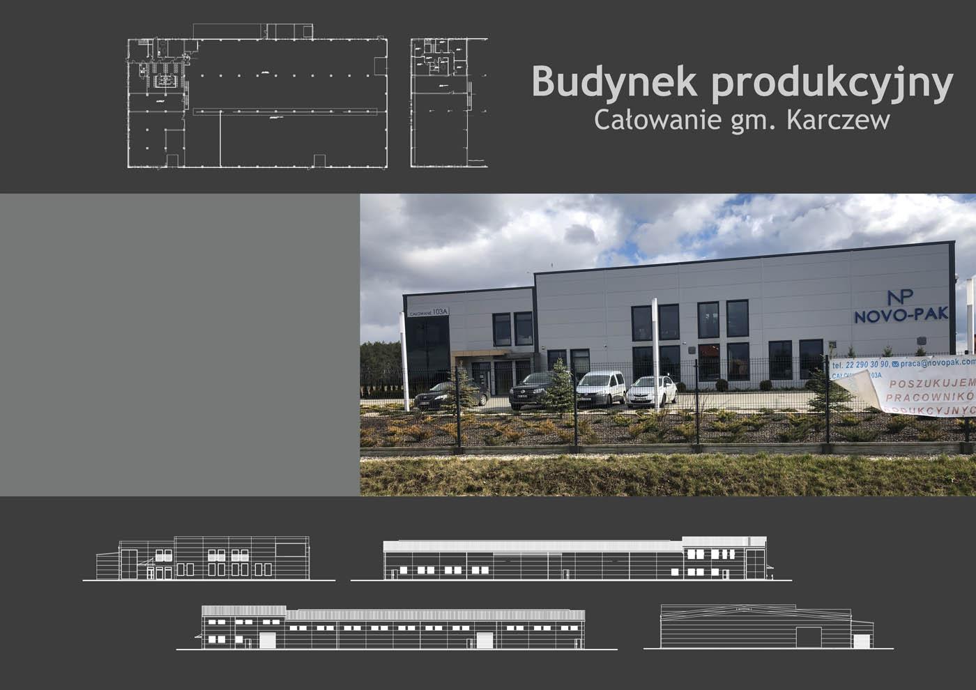 Budynek produkcyjny Całowanie gm. Karczew