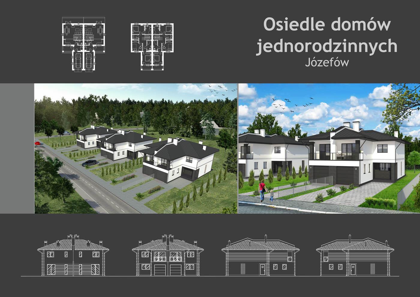 Osiedle domów jednorodzinnych Józefów
